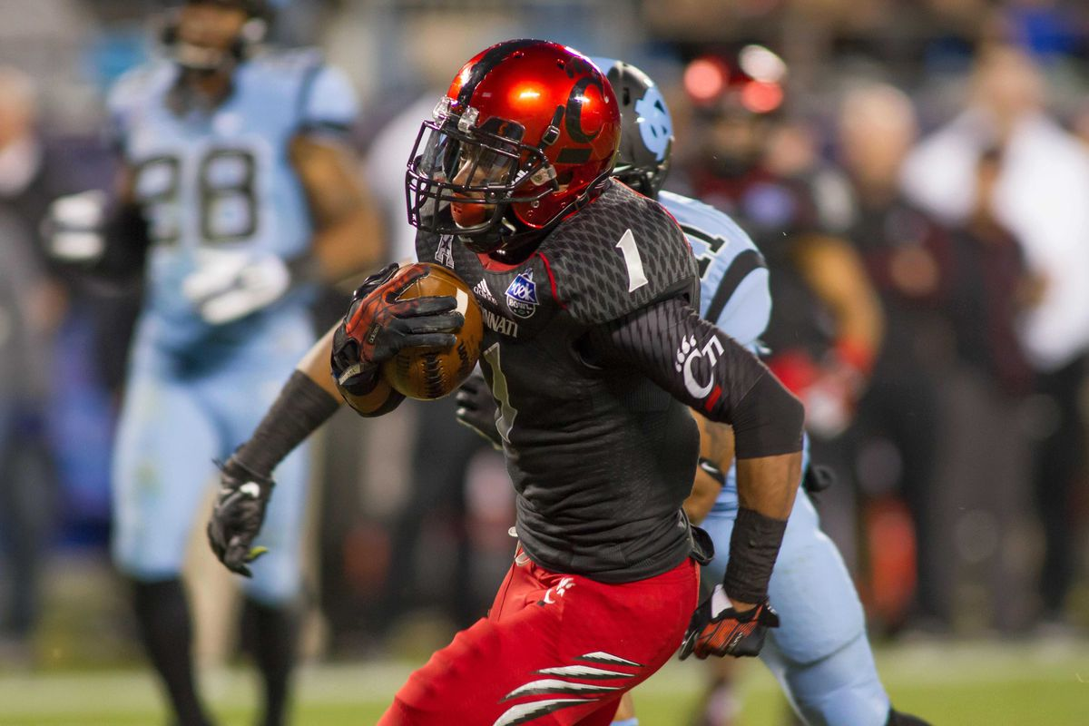 Ralph Abernathy and the Bearcats have not played since the 2013 Belk Bowl against North Carolina.