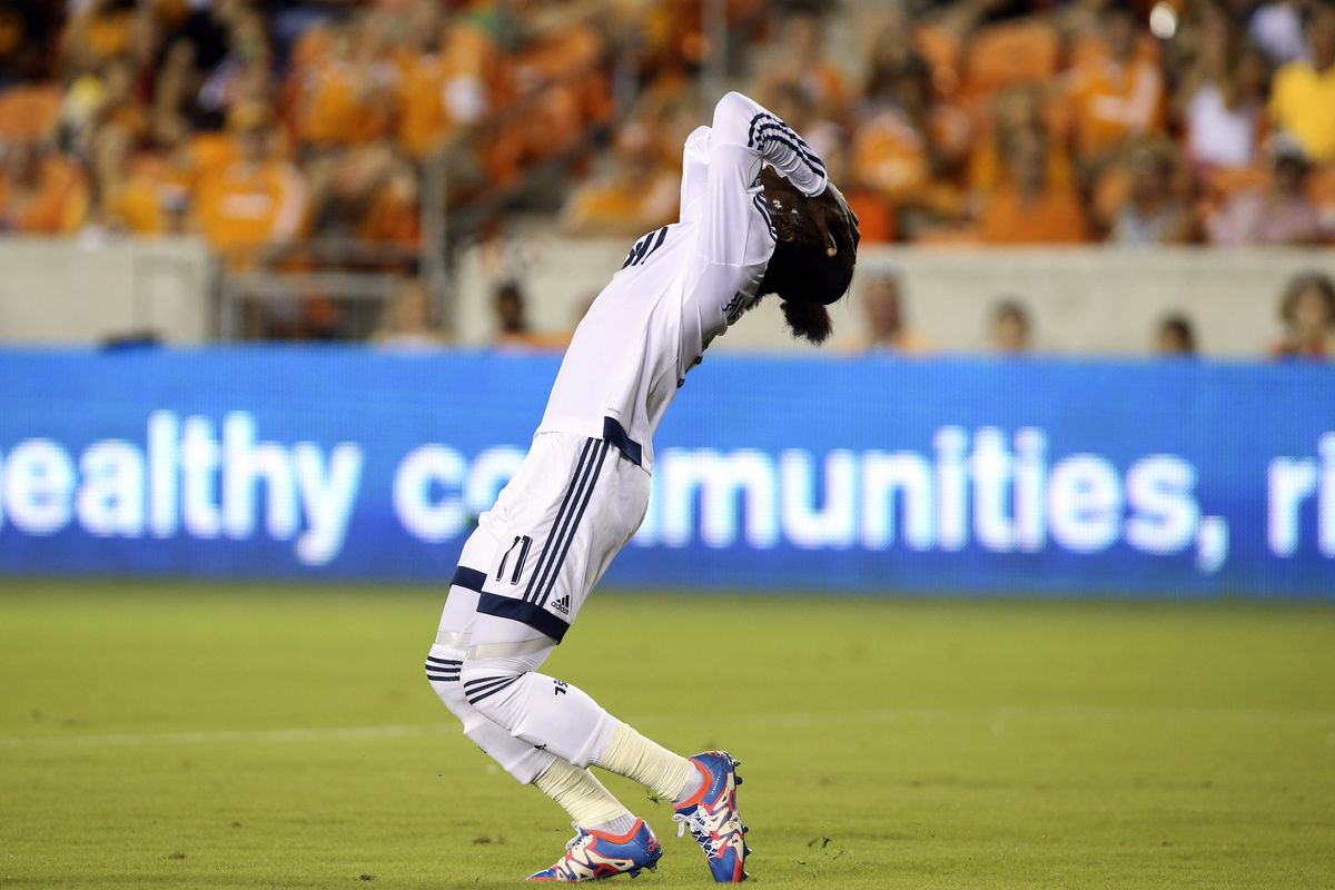 Too much of this, not enough goals for Mattocks in Vancouver.