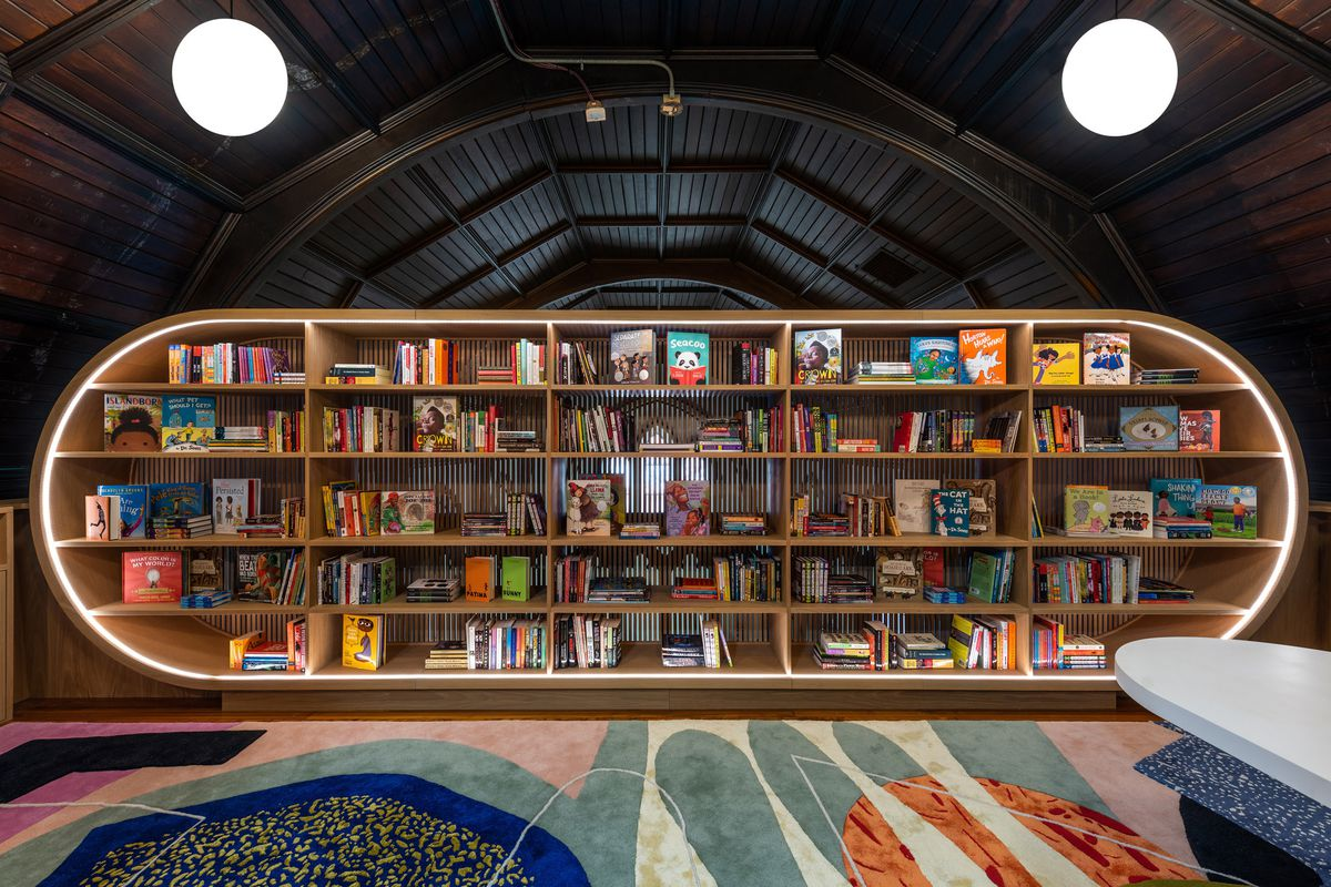 Concourse House S Design Forward Children S Library Debuts Curbed Ny
