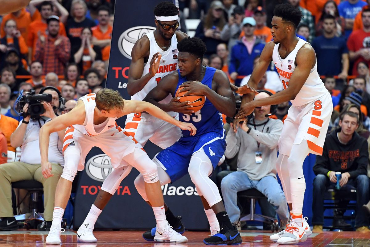 Can Syracuse Men S Basketball Afford A Loss To Buffalo Maybe