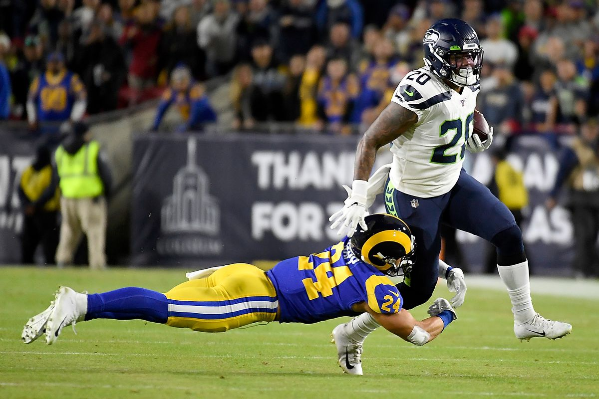 Seahawks Rams Rashaad Penny Ruled Out For The Remainder Of