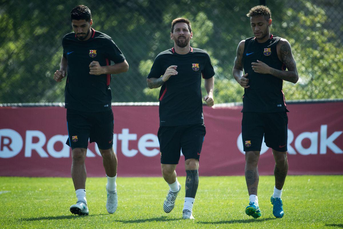 International Champions Cup FC Barcelona Training Session