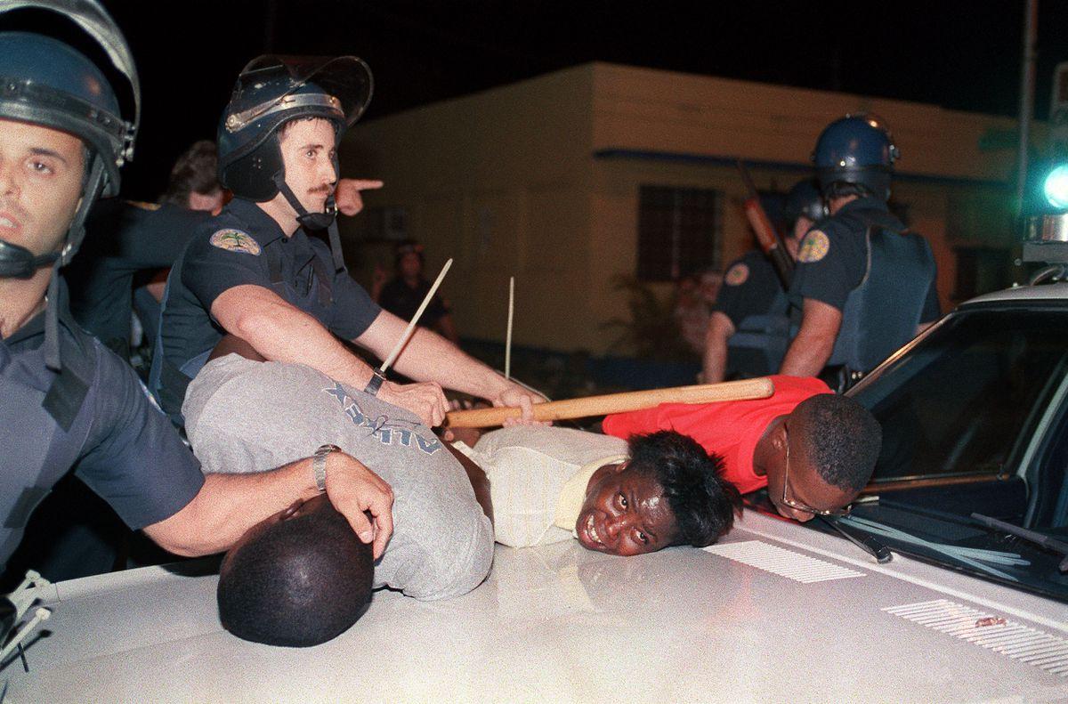 riot police Miami 1989