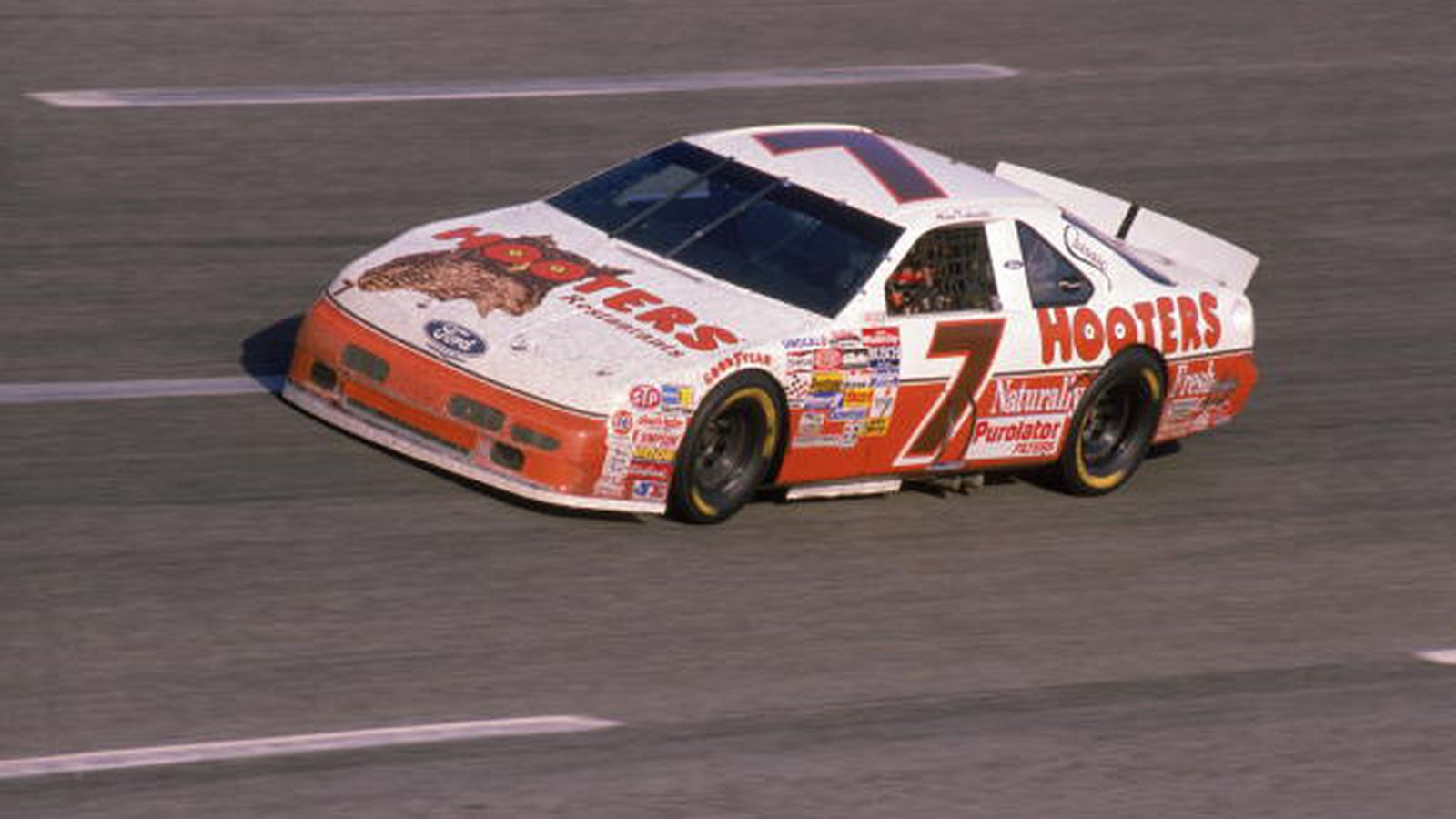 Alan kulwicki a nascar atlanta motor speedway icon sb for Car painting atlanta