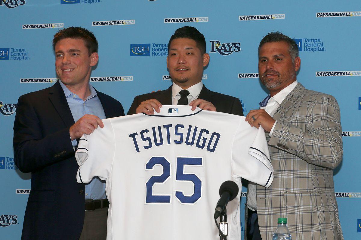 MLB: DEC 17 Yoshitomo Tsutsugo Press Conference
