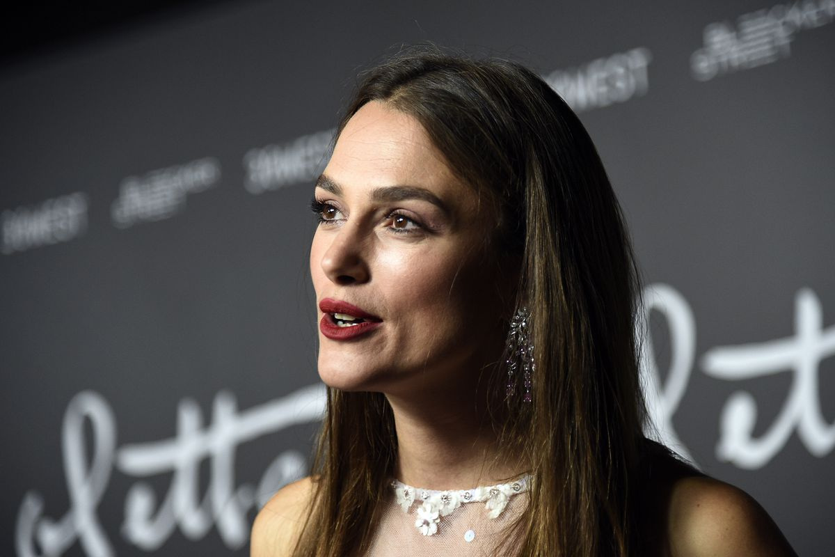 Love Actually and Pirates of the Caribbean star Keira Knightley, who was spotted at London restaurant Jolene in Newington Green this week
