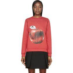"<b>Ostwald Helgason</b> sweatshirt, <a href=""https://www.ssense.com/women/product/ostwald_helgason/red-painted-fruit-sweatshirt/114361"">$120</a>"