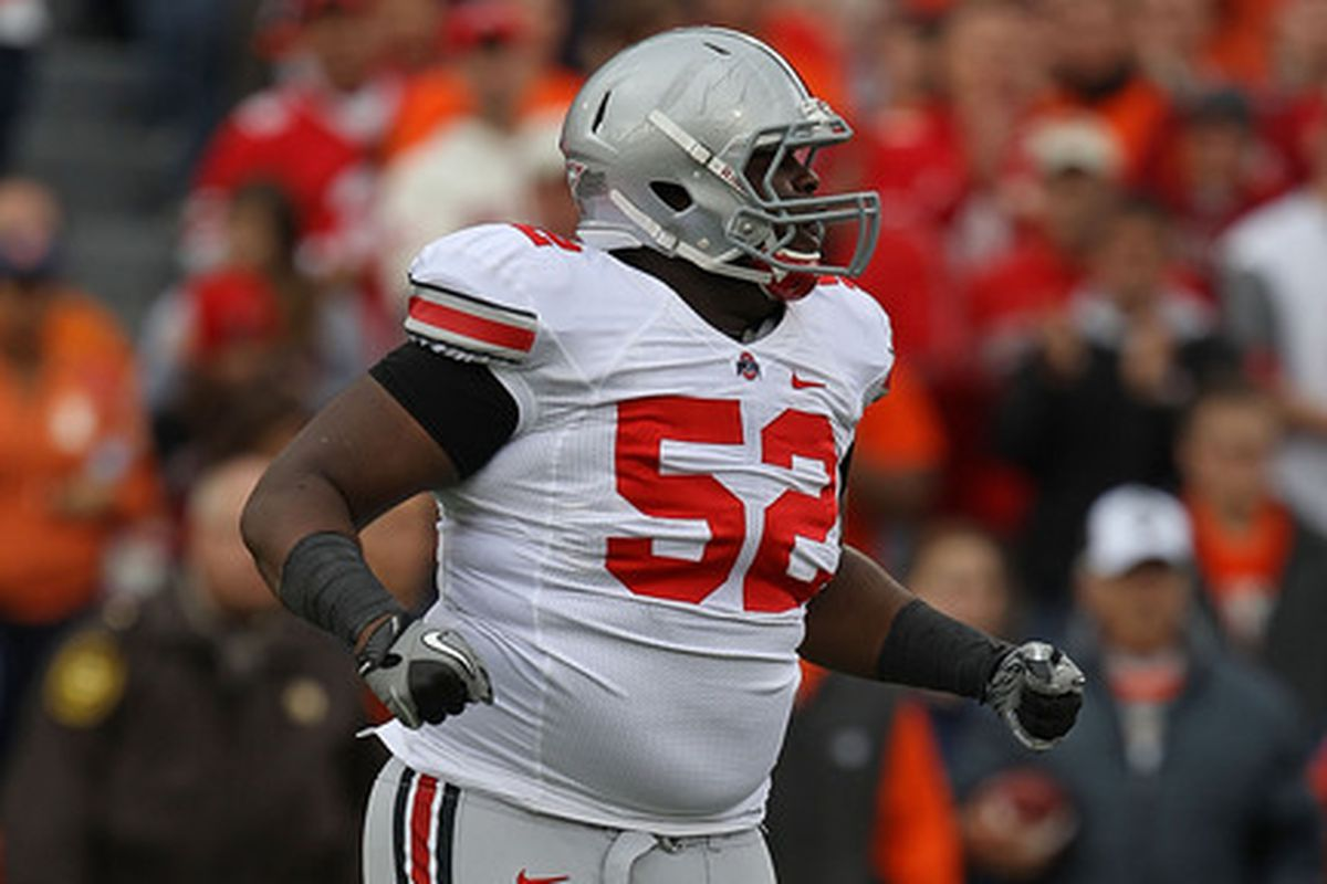 Big Hank is headed to the 2013 NFL Draft.