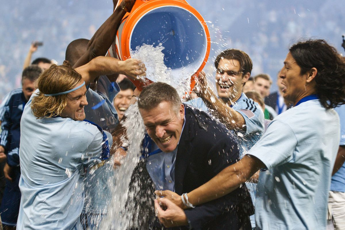 Peter Vermes will be inducted into Hall of Fame at Sporting Park Oct11th