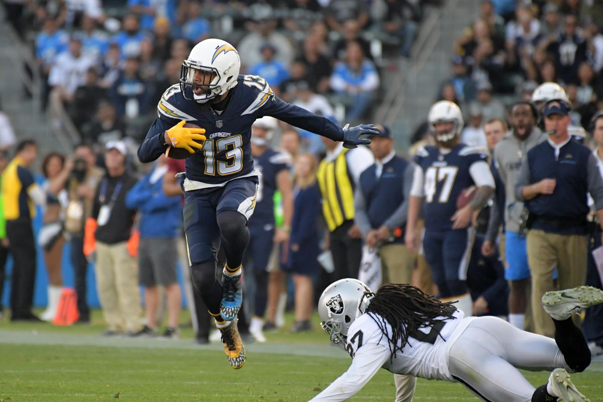 402ccf45 Chargers Links: Just How Good Is Keenan Allen Against Press Coverage ...