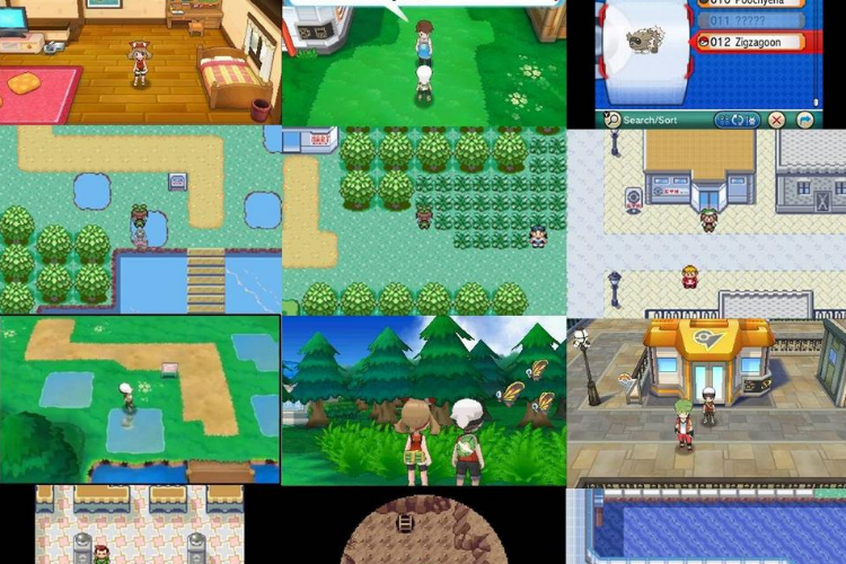 how do pok233mon omega ruby and alpha sapphire remakes look