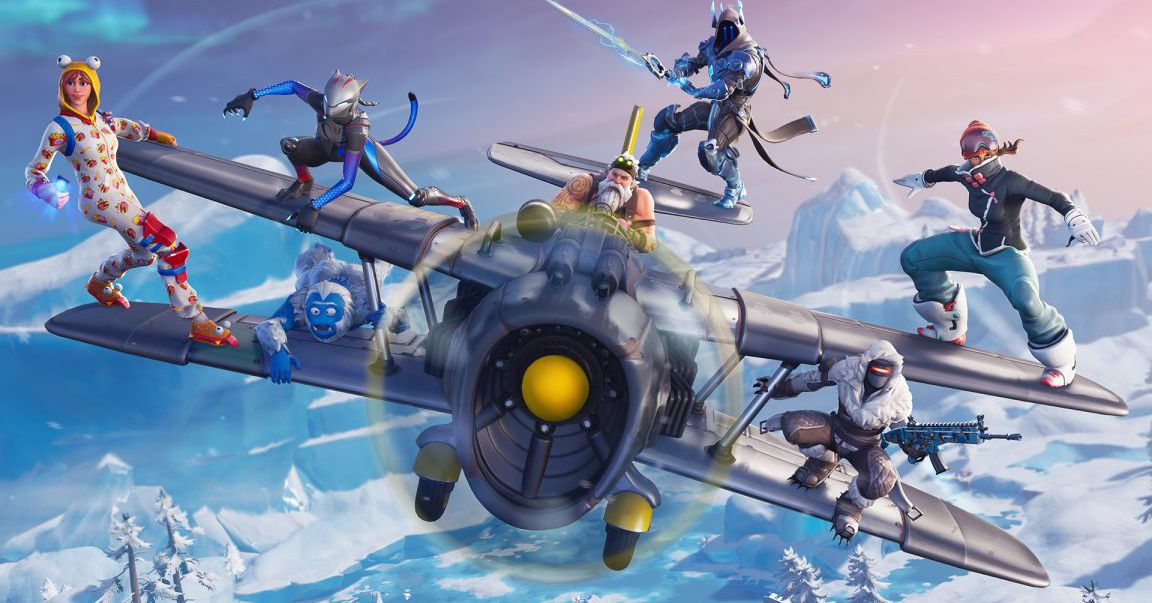 Fortnite season 7 arrives with Santa, planes, and lots of snow - The Verge thumbnail