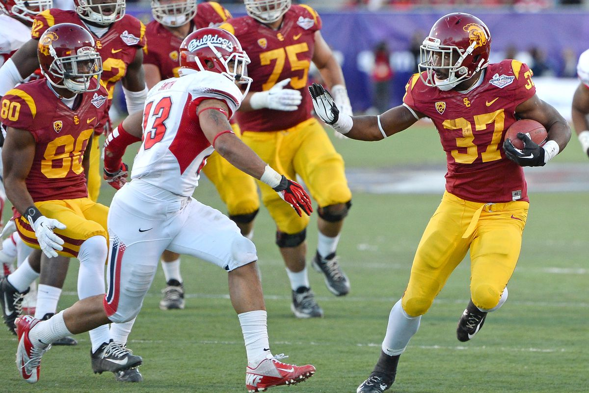 Buck Allen would love to build off his 2 TD performance against the Bulldogs in Vegas.