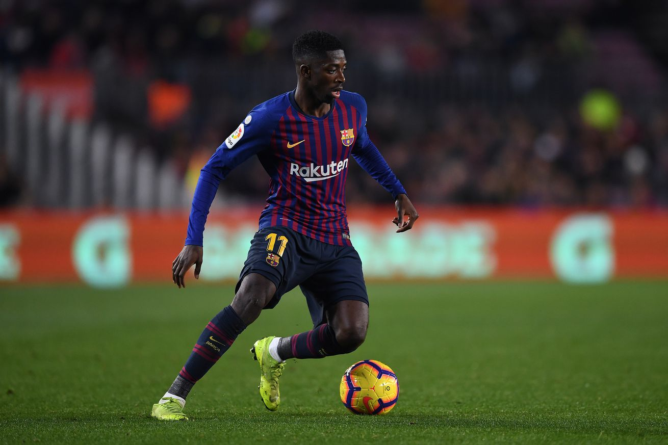 Dembele warns Barca that Lyon ?are dangerous all over the pitch?
