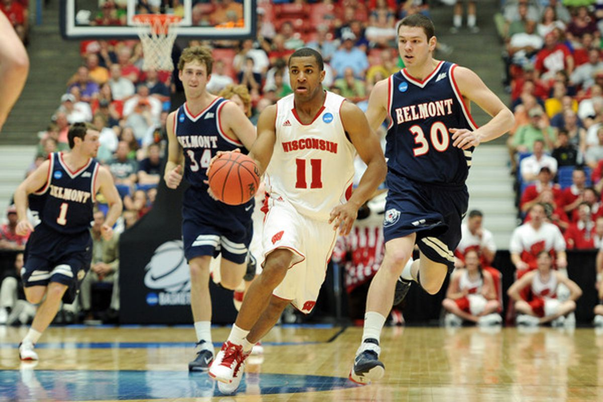 Taylor, who led the Badgers to back-to-back Sweet 16 appearances in the NCAA Tournament, is looking for an NBA team to give him a shot at the next level.