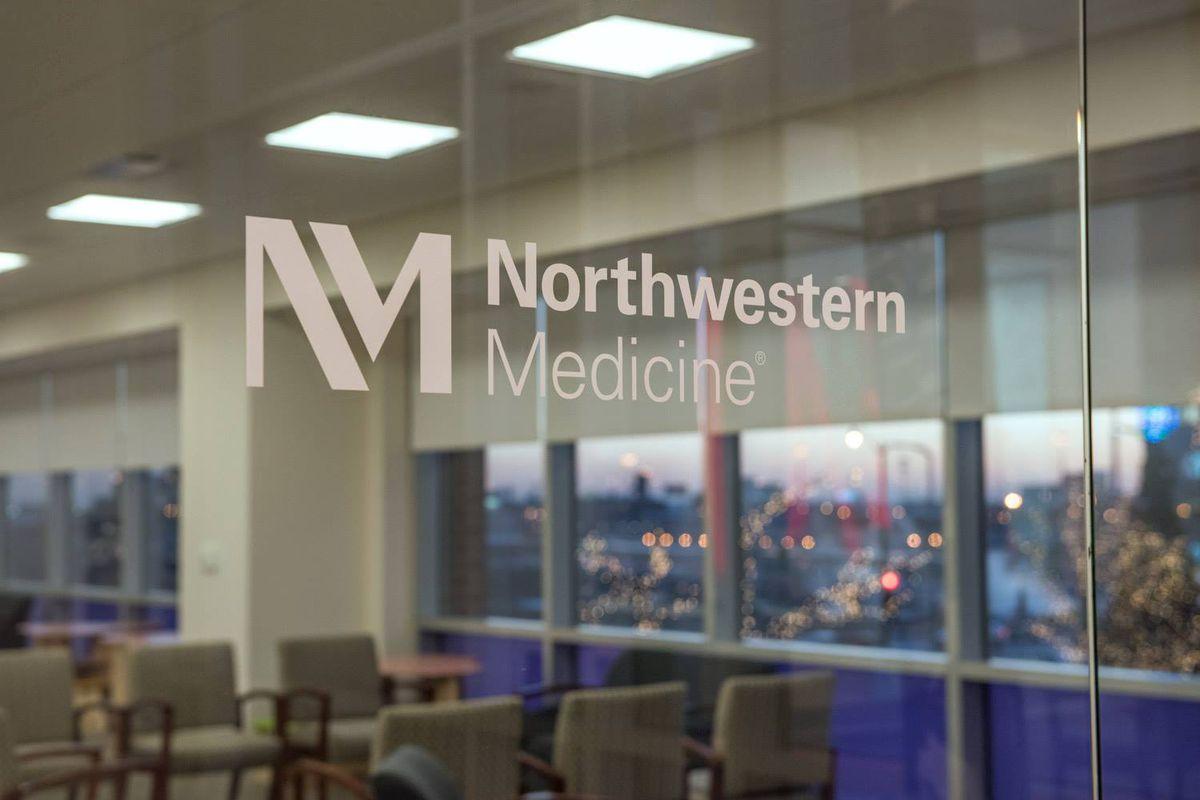 The logo of Northwestern Medicine