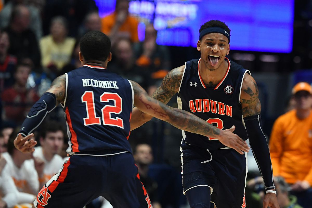Auburn Tigers Basketball Squashes Tennessee Vols To Win Sec