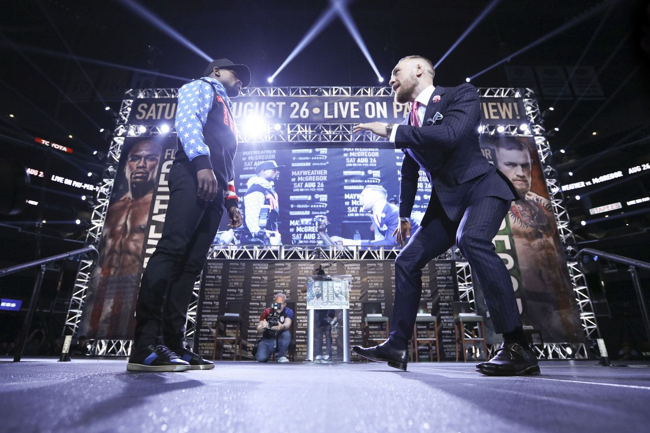 community news, Floyd Mayweather vs. Conor McGregor undercard announced