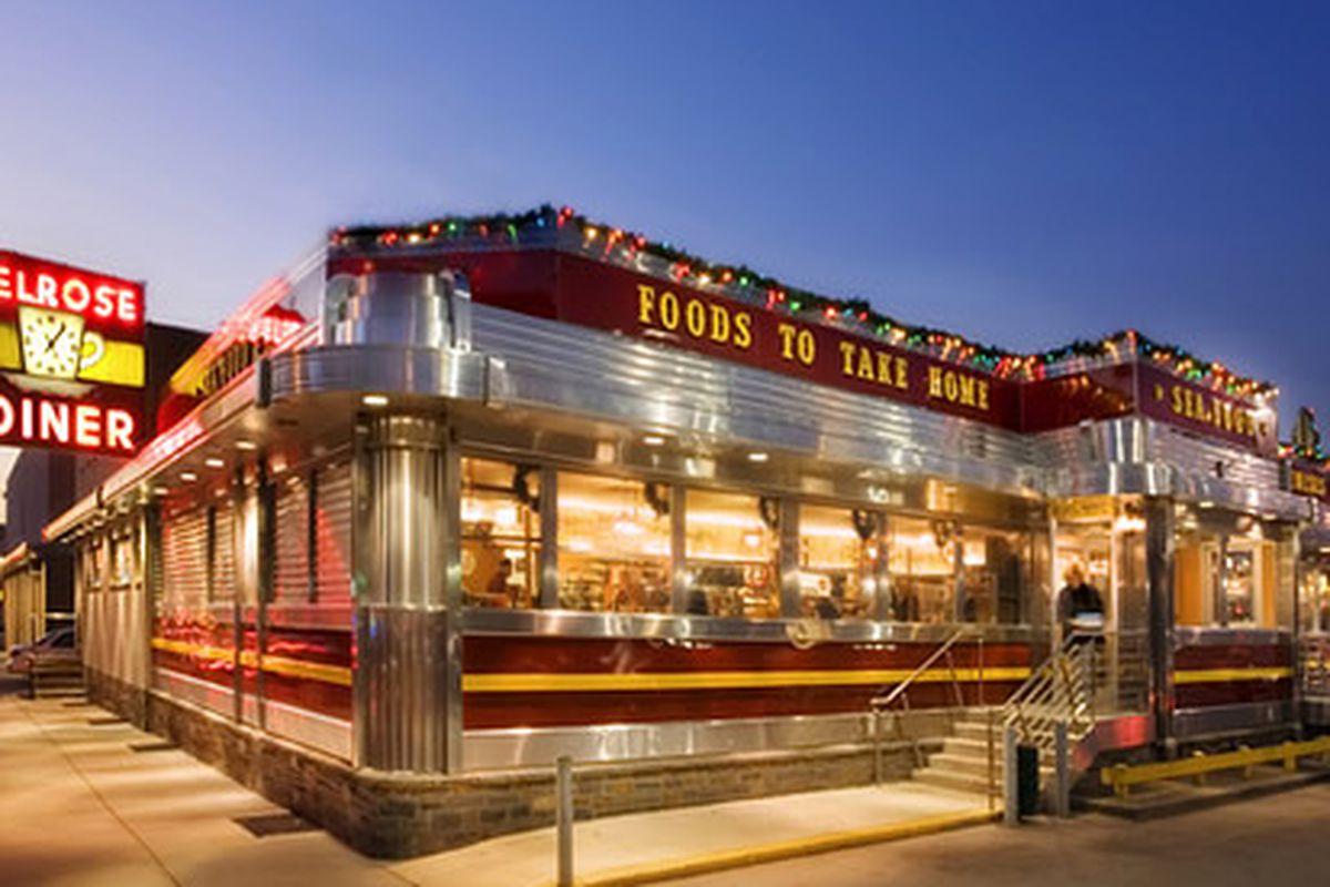 The legendary Melrose Diner