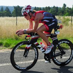 Caroline Steffen of Switzerland competes during the bike leg of Challenge Roth on July 20, 2014 in Roth, Germany. (Photo by Lennart Preiss/Getty Images)