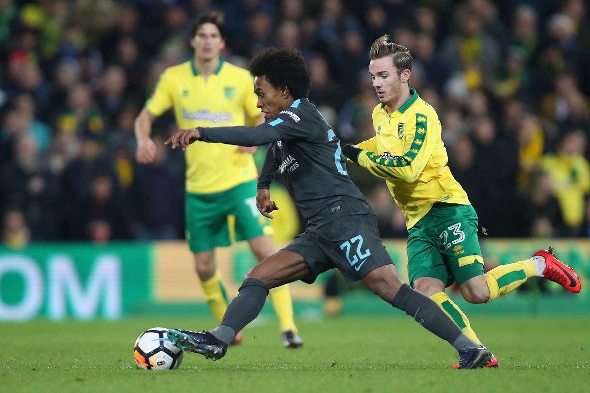 FA Cup Report: Norwich City v Chelsea 06 January 2018