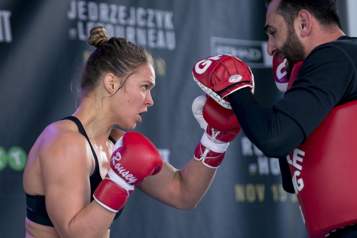 UFC 193 Open Workout