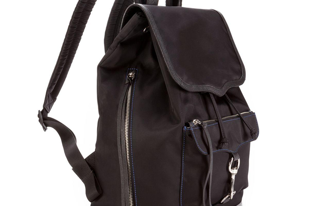 """The Bike Share Backpack via <a href=""""http://www.rebeccaminkoff.com/bike-share-backpack-black.html"""">Rebecca Minkoff</a>"""