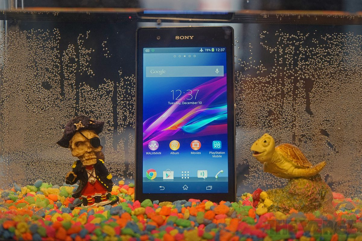 Gallery Photo: Sony Xperia Z1S for T-Mobile hands-on pictures