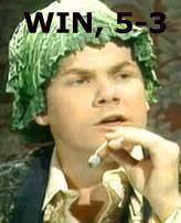 WIN, 5-3