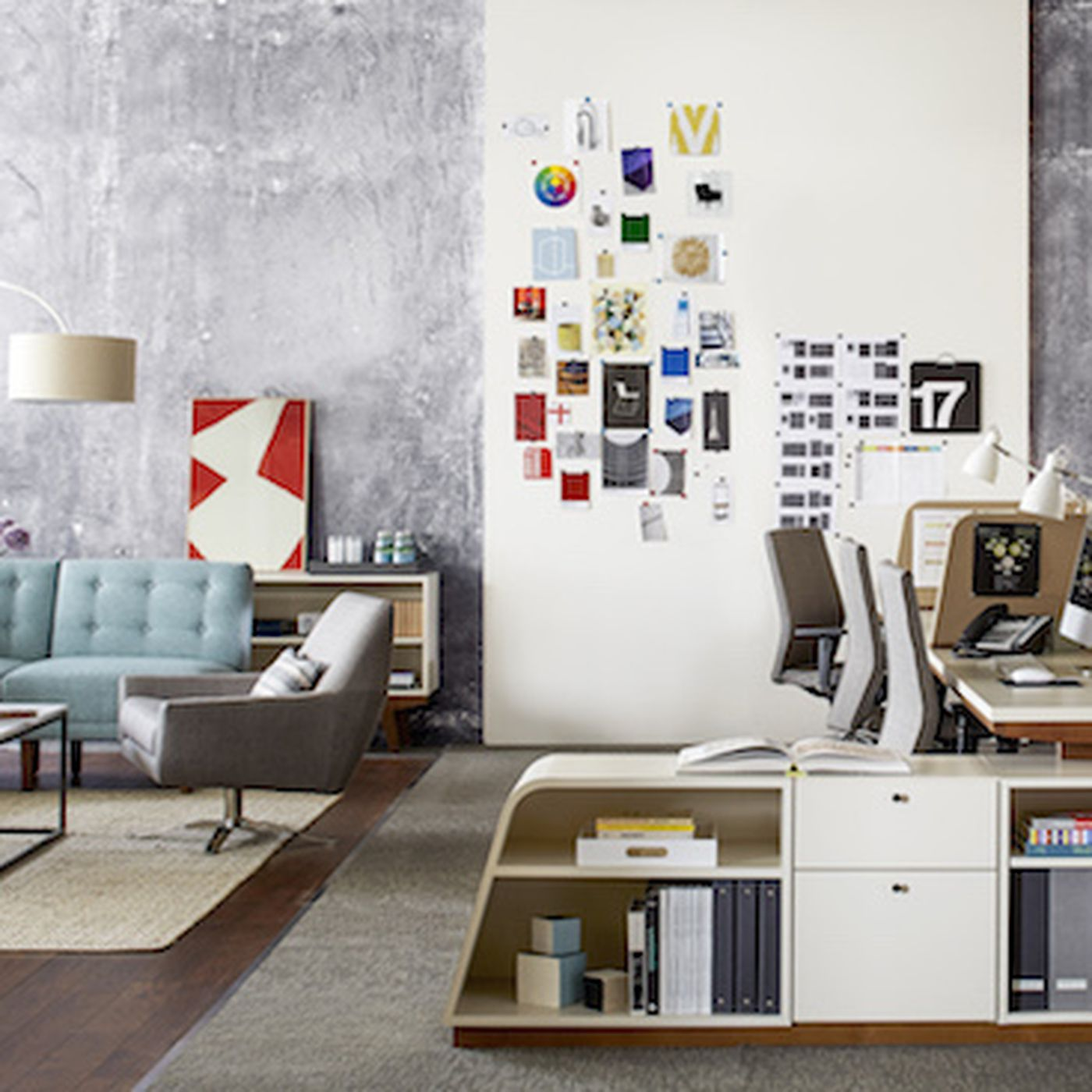 New West Elm Office Furniture Line Gives You Midcentury Style But