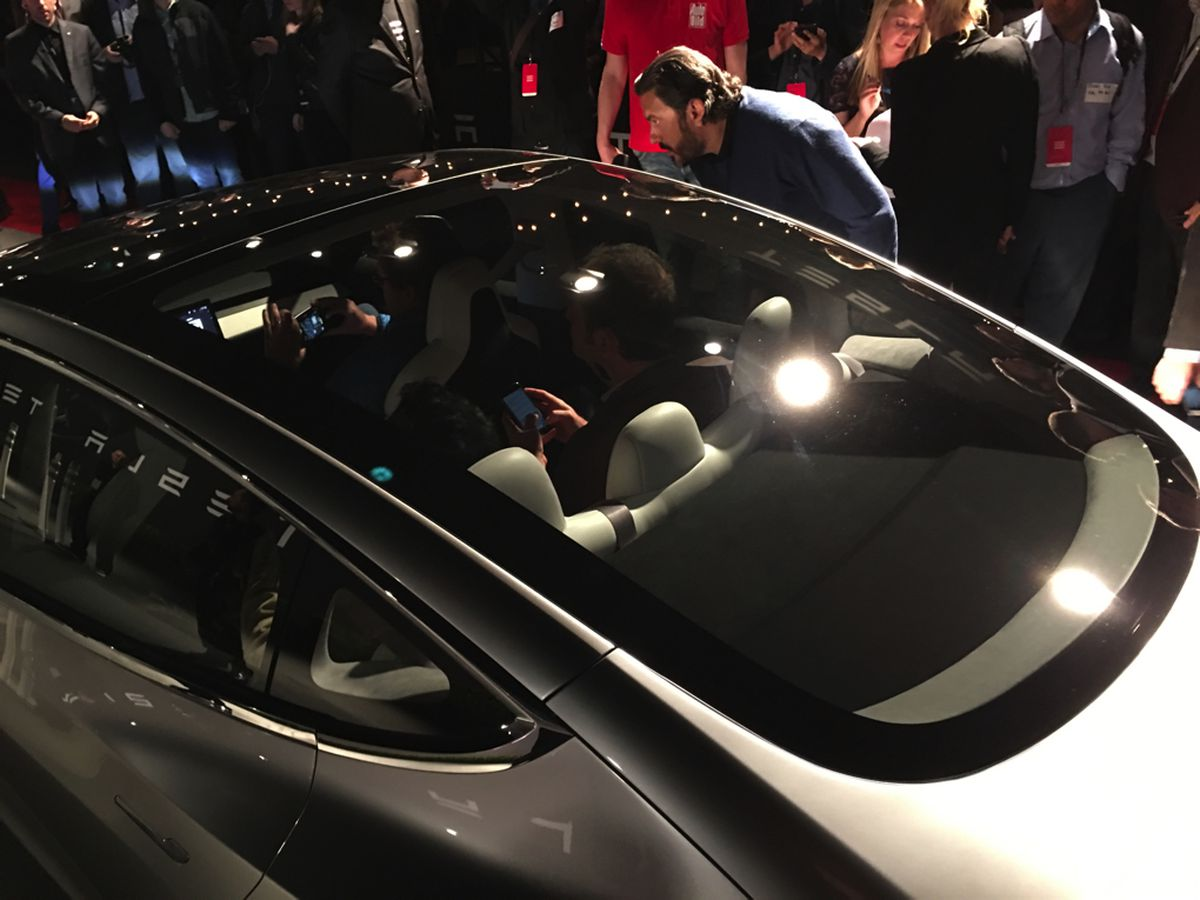 Tesla Model 3 Announced Release Set For 2017 Price