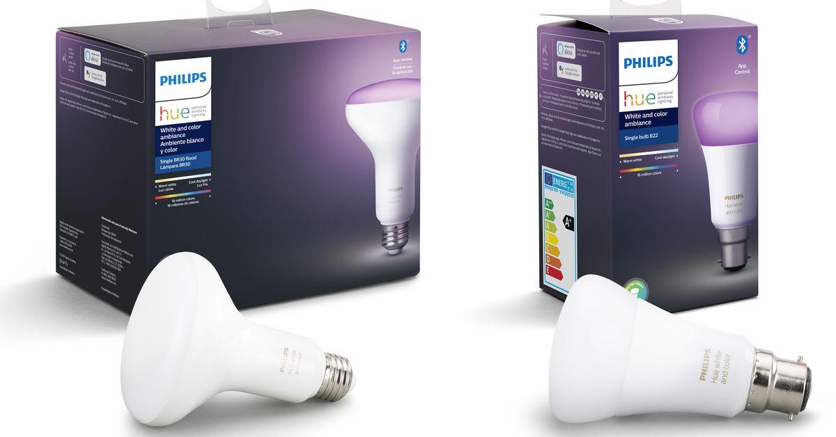 Techmeme: Some Philips Hue smart bulbs now come with