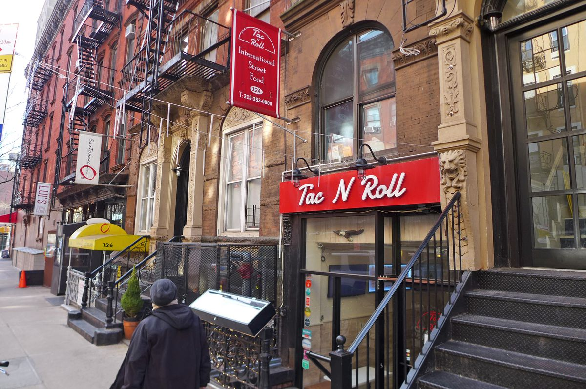 The East Village location