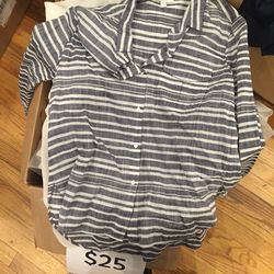 Button-down shirt, $25