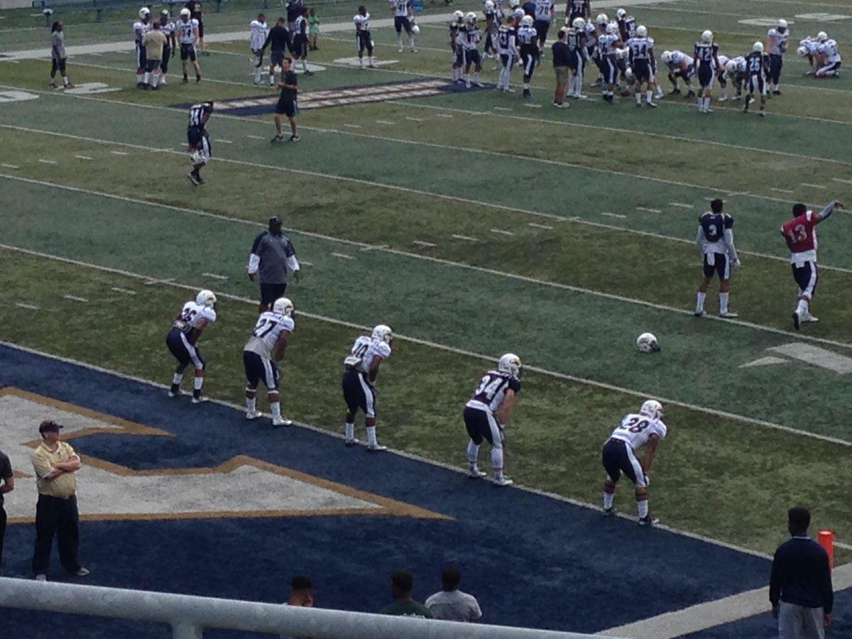 Akron football spring game