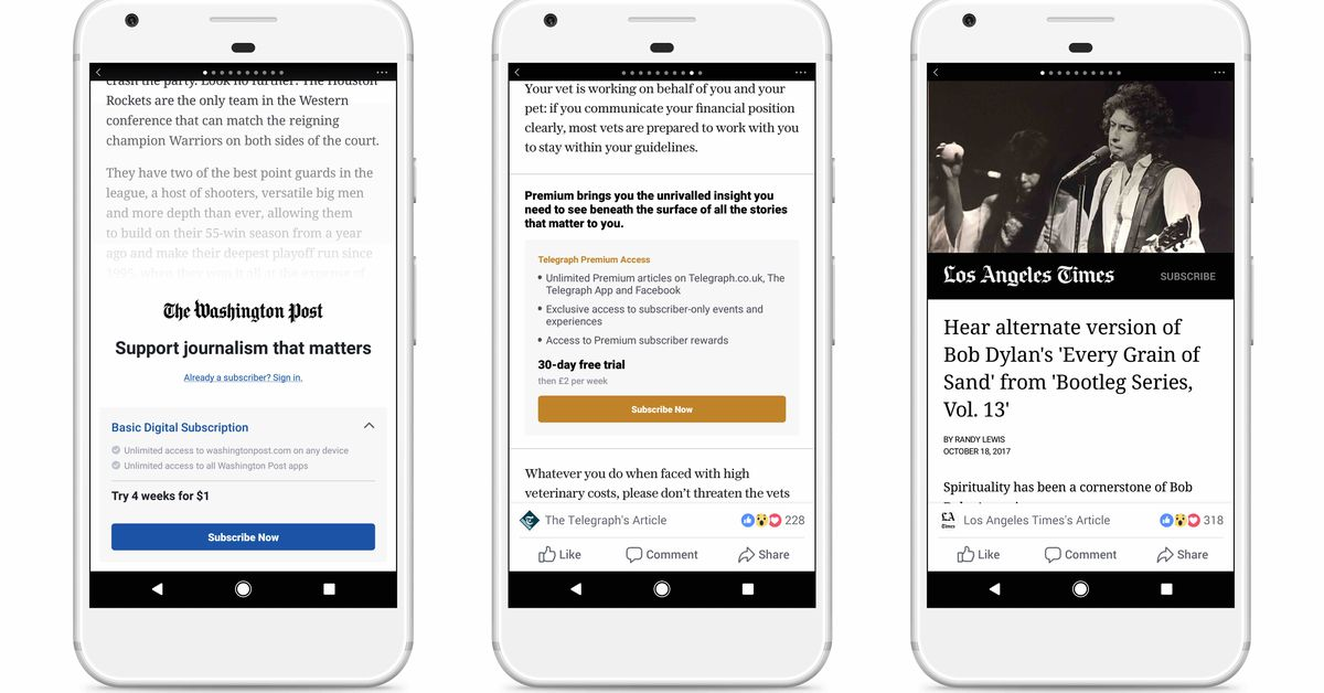 Facebook and Apple Can't Agree on Terms, so Facebook's Subscription Tool will Only Launch on Android Phones