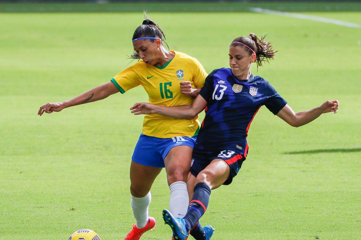 Soccer: She Believs Cup Women's Soccer-Brazil at USA