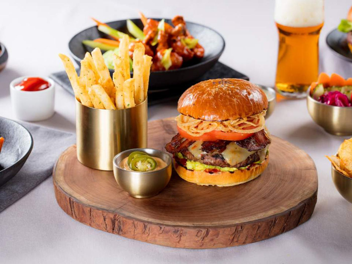 Meet The Lunch Only Specials At Gordon Ramsay Hell S Kitchen Eater Vegas