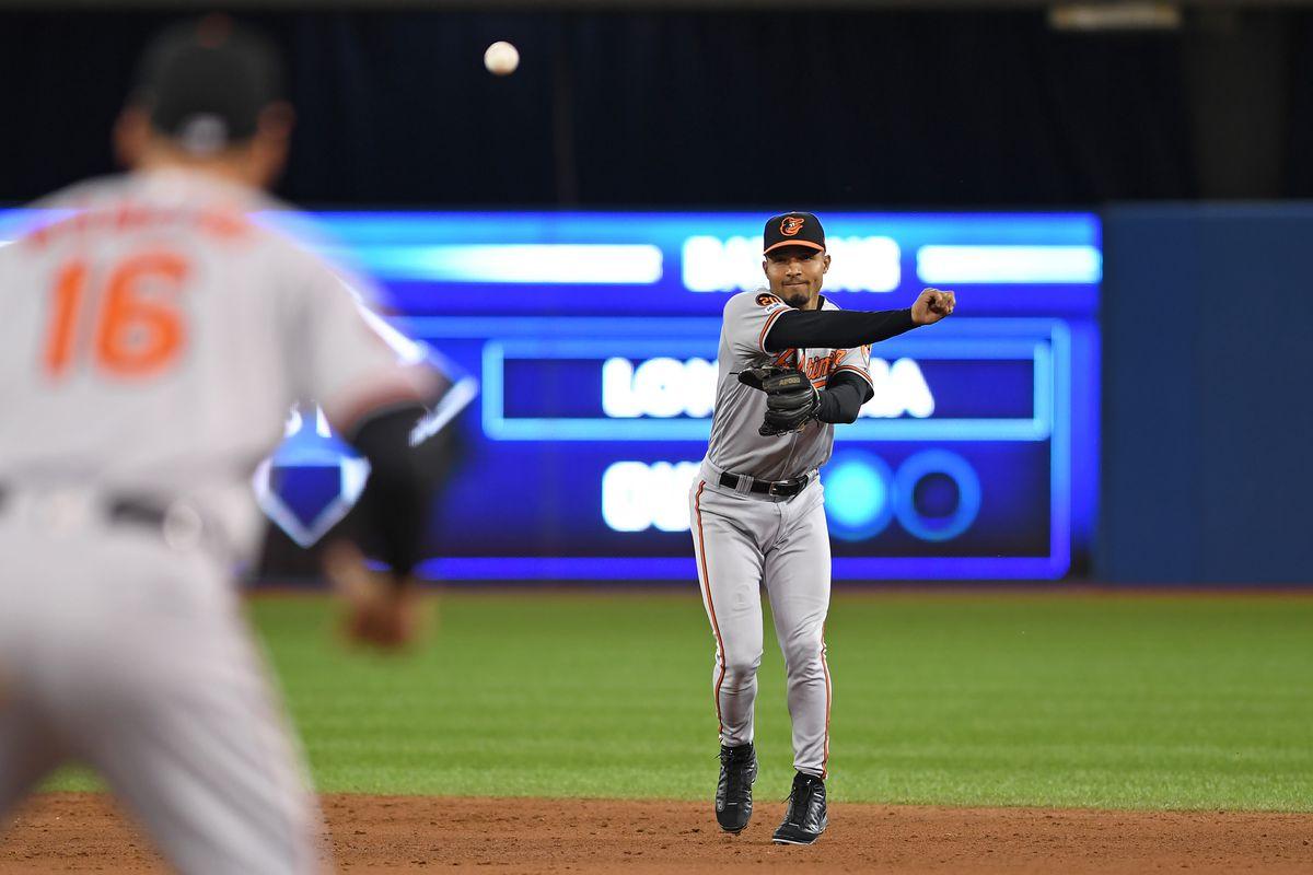 MLB: SEP 24 Orioles at Blue Jays