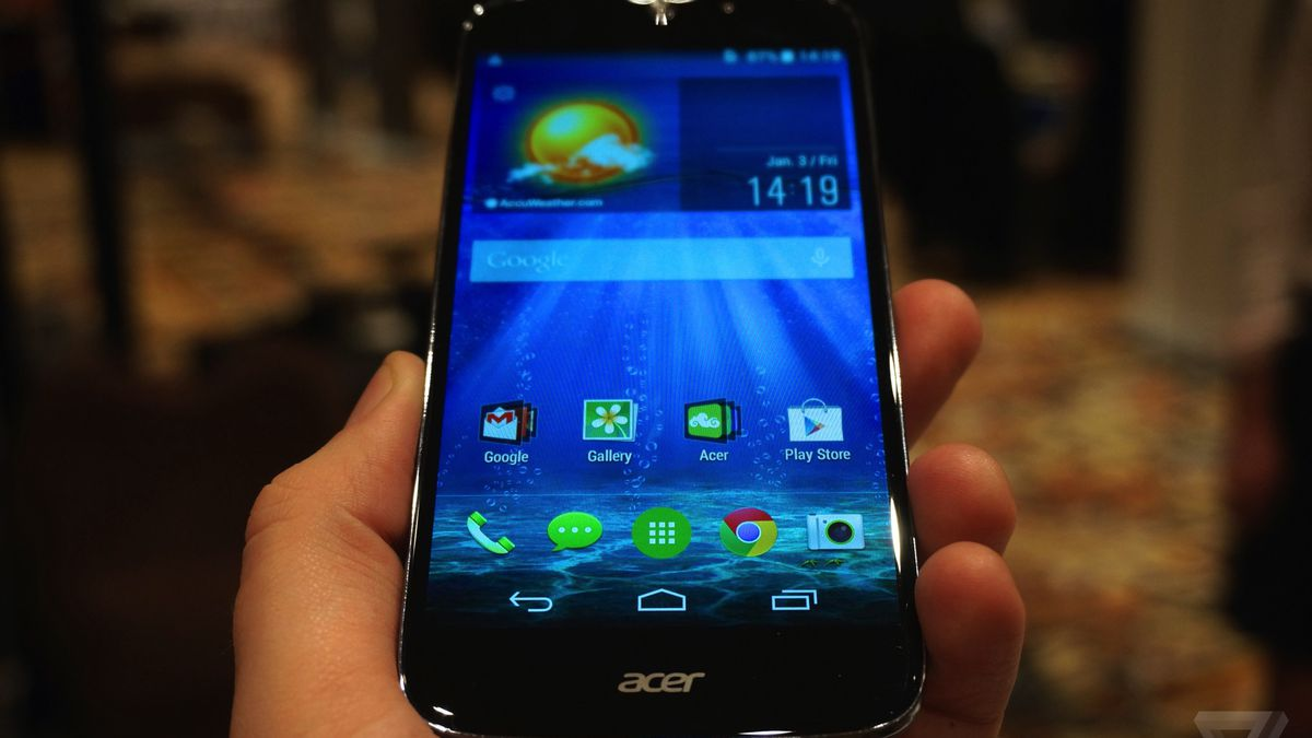 Acer makes a strong play for the inexpensive smartphone ...