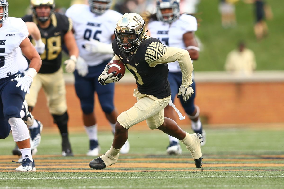 NCAA Football: Rice at Wake Forest