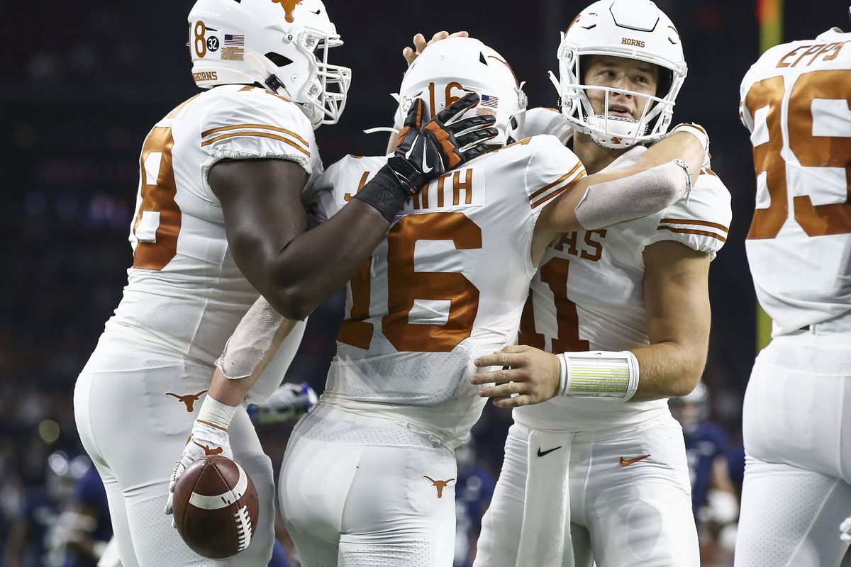 Film Review Reactions to Texas' 48-13 win over Rice