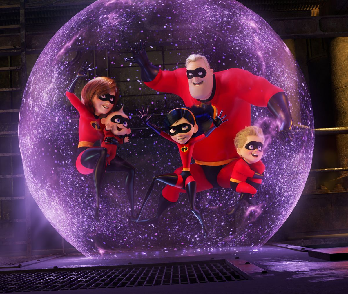 incredibles 2 parr family