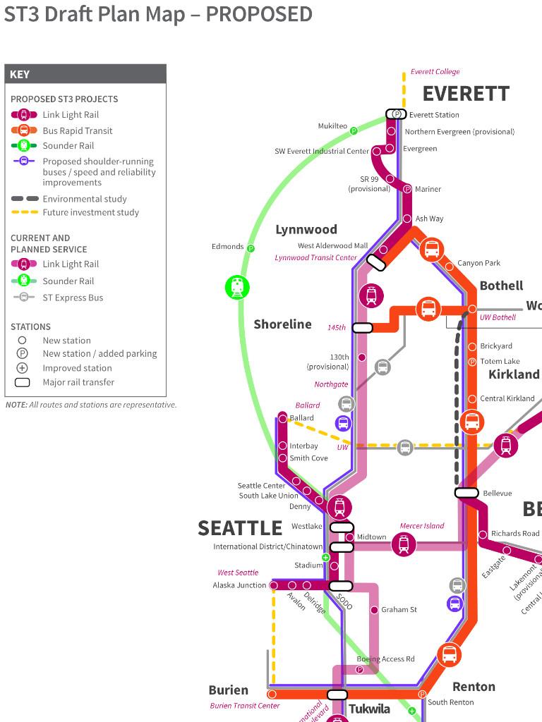 Light Rail to Key Arena in 2038 - Sonics Rising