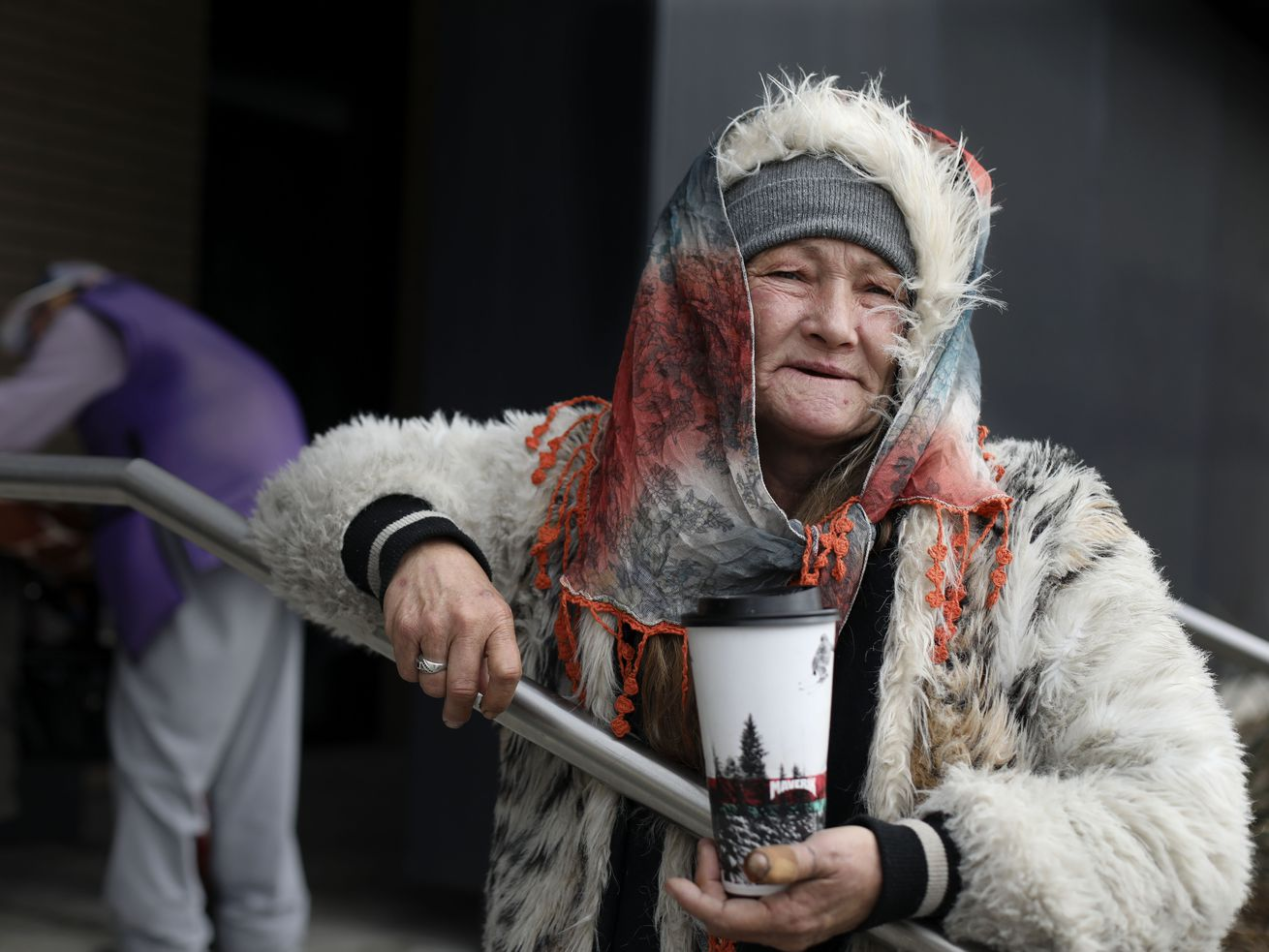 Rina Sommer-Bowen, who currently resides at the Geraldine E King Women's Center in Salt Lake City, is pictured on Wednesday, Nov. 20, 2019. Sommer-Bowen was one of the first women to move into the center when it opened a few months ago.