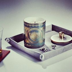 """I really enjoy the process of designing objects. Handmade bone china adorned in gold, this limited-edition <a href=""""http://minnewyork.com/members-only-union-club-limited-edition-candle-in-gold-by-min-new-york.html"""">Members Only Union Club Candle</a> evoke"""