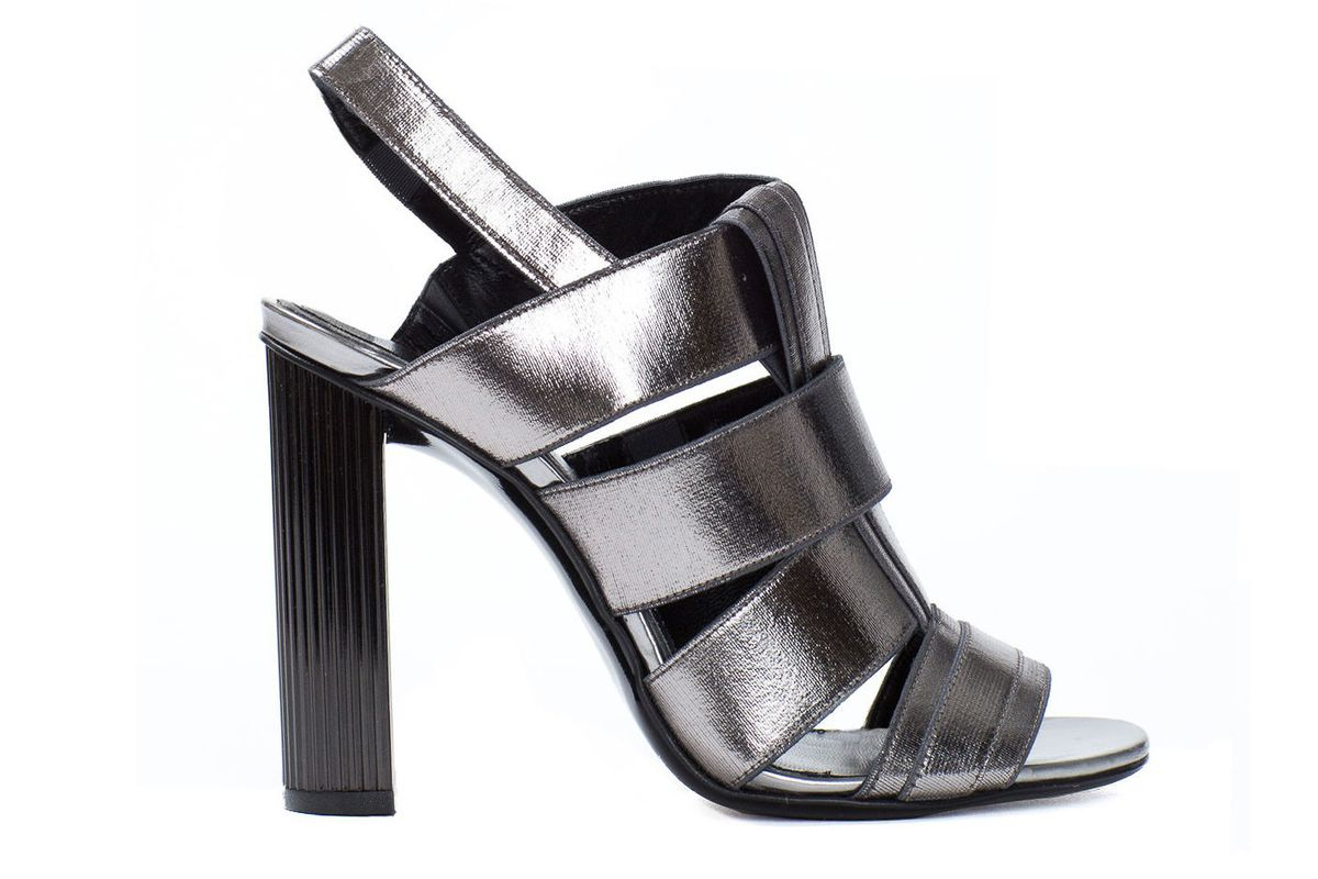 """Robert Clergerie Divana Metallic Heel Sandals<a href=""""http://www.openingceremony.us/products.asp?menuid=2&amp;catid=16&amp;designerid=689&amp;productid=109262"""">$695</a>"""