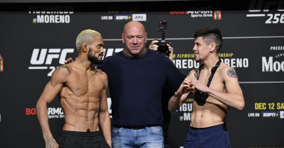 UFC 256: Figueiredo vs. Moreno main card live results, discussion, PBP