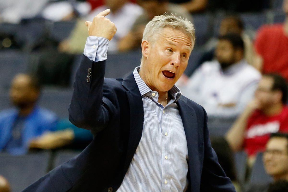 Brett Brown is contractually obligated to sit through all 82 Sixers' games this season. You, on the other hand, are not.