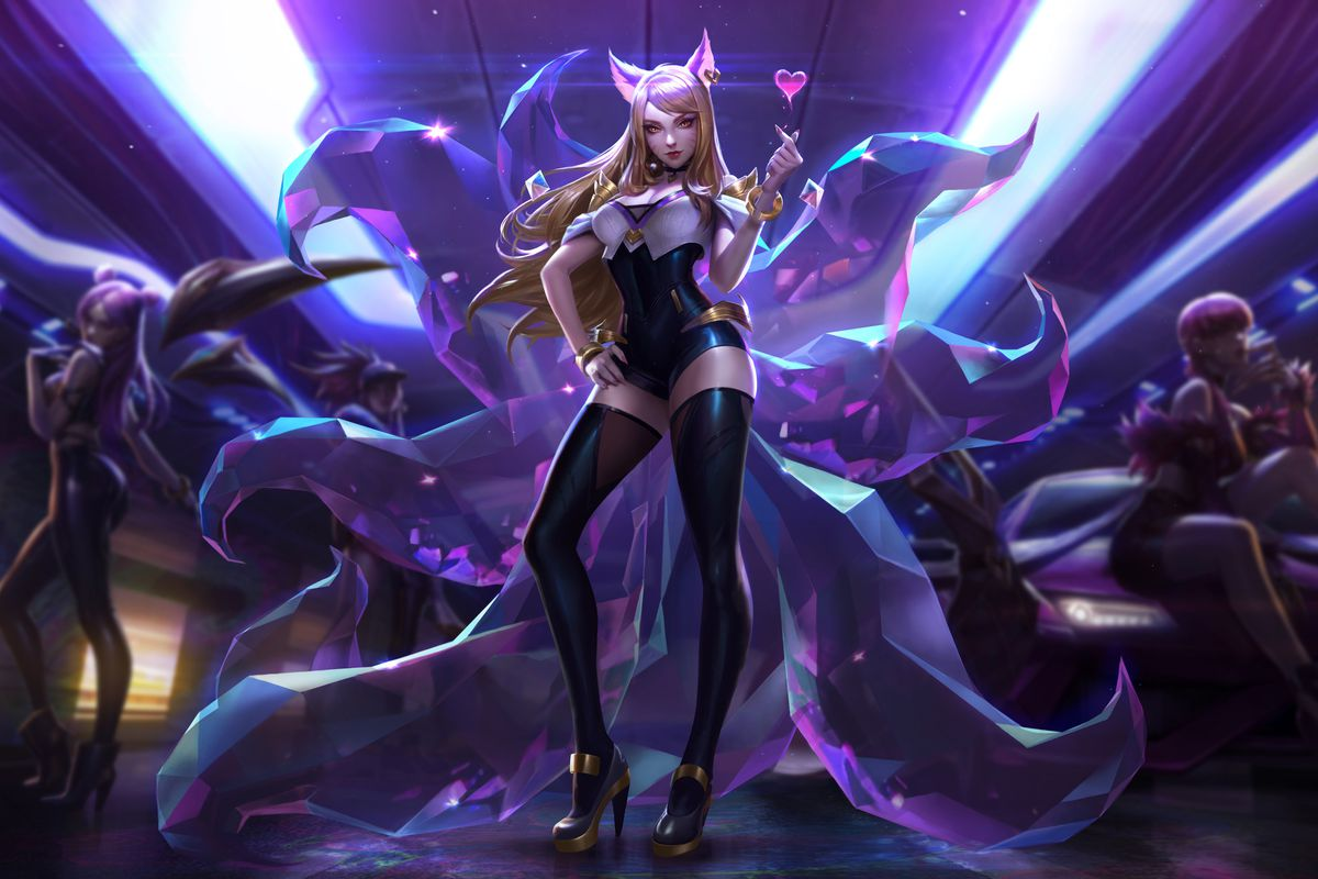 League Of Legends Virtual K Pop Band Is Helping The Game Attract A